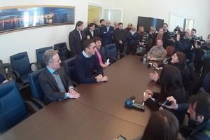 conferenza stampa assessori bottaro