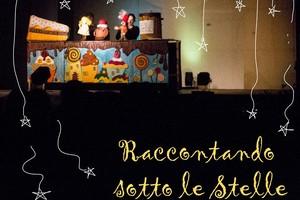 """Torna  """"Raccontando sotto le stelle """", il festival di teatro per ragazzi"""