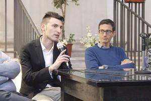 Vincenzo Topputo si presenta, grande partecipazione a San Luigi