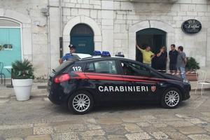 Intervento Carabinieri zona Porto