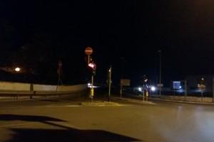 Cavalca ferrovia di via Andria al buio da più di cinque giorni