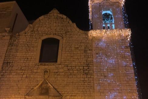 Accensione del campanile di San Rocco