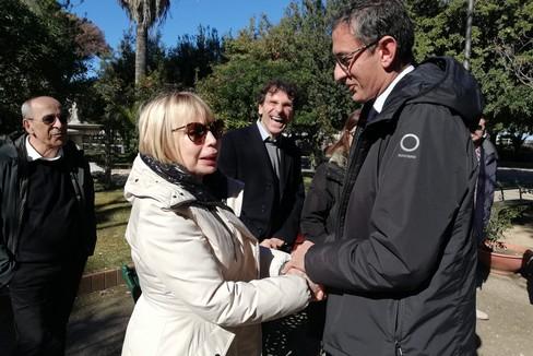 Laura Escalada Piazzolla in Villa a Trani
