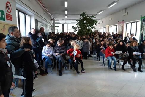 Scuola Baldassarre, preside Galiano