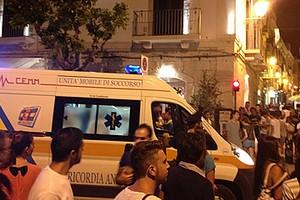 Ambulanza in via Zanardelli