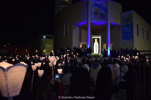 Festa Liturgica Madonna di Lourdes - Processione di quartiere