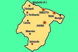 Ruvo Di Puglia Cartina.Bat La Bat Salva Con Cerignola Corato E Ruvo Di Puglia