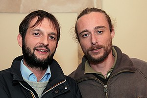Biagio Fanelli con Alessio Giannone