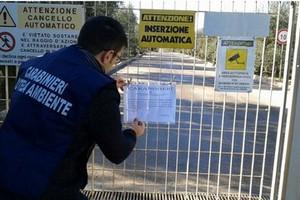 Carabinieri, sequestrata la discarica di Trani: 16 indagati