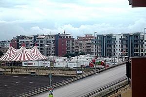 Circo a Trani in zona Cappuccini