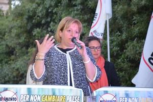 Comizio Antonella Papagni