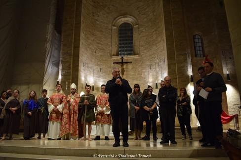 """In Cattedrale  """"Nicola, Il Santo pellegrino """""""