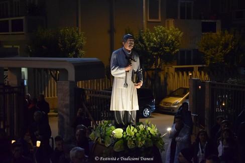 San Giuseppe Moscati, processione a Trani