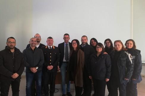 Bottaro accoglie i 12 nuovi vigili