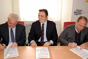 Firma convenzione in Provincia Bat con l'università Lum