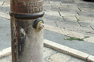 Fontana in piazza Sant'Agostino