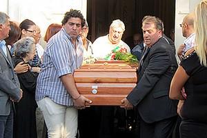 Funerale di Roberto Visibelli