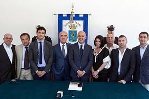 Giunta comunale di Gigi Riserbato (foto Luciano Zitoli)