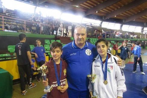 Judo Trani, due ori al Campionato italiano di Lotta