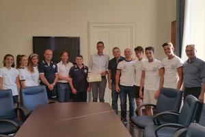 Judo Guglielmi Trani incontra il sindaco Bottaro