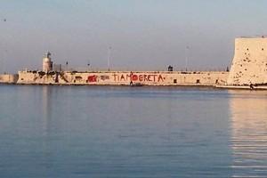Graffiti sul porto