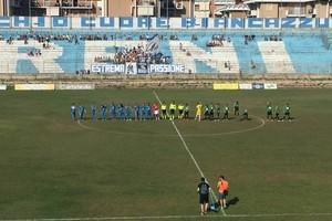 Partita di calcio Vigor Trani vs Bitonto