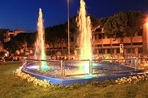 Fontana della rotatoria di via Istria