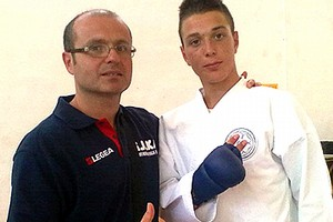Paolo De Feo campione di Kumite