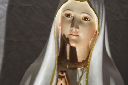 La Madonna di Fatima nella Chiesa dello Spirito Santo