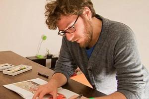 Massimiliano Di Lauro, l'illustrazione e la necessità di bloccare il tempo