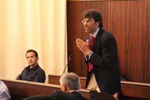 Michele Di Gregorio in consiglio comunale