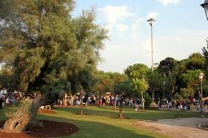 Parco giochi della villa comunale di Trani