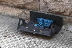 Petardi nelle trappole per topi