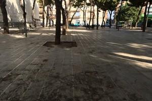 Piazzetta di Via Andria in totale degrado