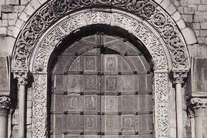 Trani cattedrale francobollo e nuovo portone bronzeo - Di trani porte ...