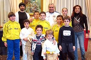 Premiazione Judo Trani