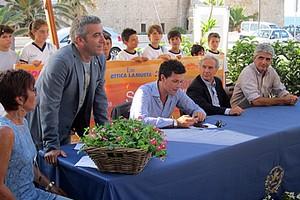 Presentazione tennis allo sporting club di Trani