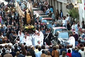 Processione di Samta Rita