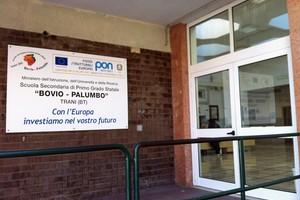 Scuola Bovio Palumbo ingresso