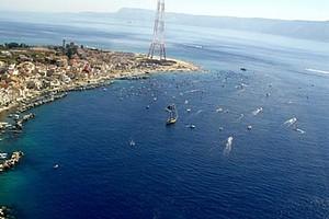Stretto di Messina a nuoto