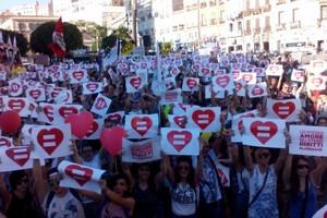 manifestazione diritti civili