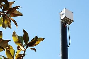 Telecamera rubata in Provincia
