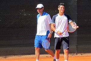 Tennis, Andrea Pellegrino con Stefano Pescosolido