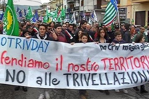 manifestazione anti trivelle