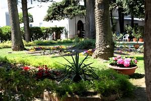 Giardini della villa comunale di Trani