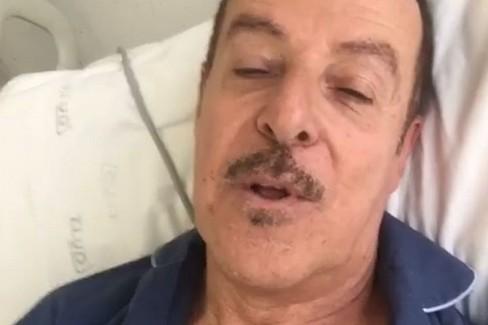 Il videomessaggio di Massimo Lopez dopo l'infarto