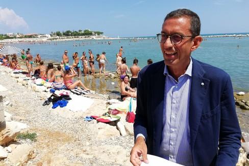 Lavori sul lungomare Mongelli: intervista al sindaco
