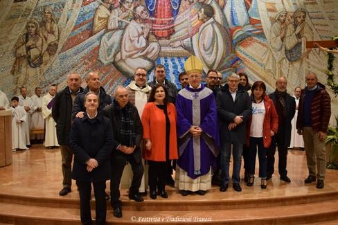 Benedizione locali ambulatorio medico San Giuseppe Moscati