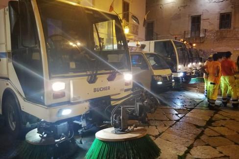 Igienizzazione delle strade