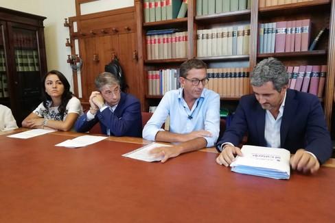 Conferenza modalità sosta di pagamento a Trani, intervista a Bottaro
